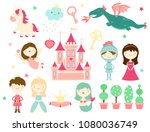 vector collection of cute fairy ...   Shutterstock .eps vector #1080036749