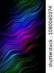 dark multicolor  rainbow... | Shutterstock . vector #1080060374