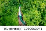 beautiful aerial scenery of... | Shutterstock . vector #1080063041