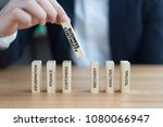 business continuity concept | Shutterstock . vector #1080066947