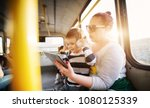 mature lady is holding her... | Shutterstock . vector #1080125339