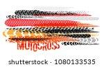 off road grunge motocross... | Shutterstock .eps vector #1080133535