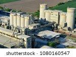 cement plant in devnya ... | Shutterstock . vector #1080160547