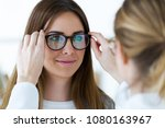 Close Up Of Optometrist And...