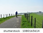 active man bicycling on the... | Shutterstock . vector #1080165614