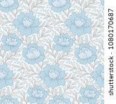 provence style pattern with ... | Shutterstock .eps vector #1080170687