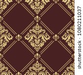 classic seamless vector pattern....   Shutterstock .eps vector #1080211037