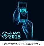 general data protection...   Shutterstock .eps vector #1080227957