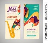 international jazz day   music... | Shutterstock .eps vector #1080231947