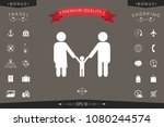 adults with a child   family... | Shutterstock .eps vector #1080244574