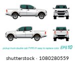 vector eps10   double cab... | Shutterstock .eps vector #1080280559