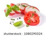 italian cuisine concept  ...   Shutterstock . vector #1080290324
