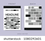 geometrical vector brochure... | Shutterstock .eps vector #1080292601