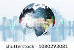 stock market  trading online  ... | Shutterstock . vector #1080293081