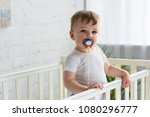Cute Little Baby Boy With...