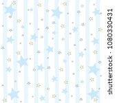 cartoon boys seamless pattern... | Shutterstock .eps vector #1080330431