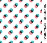 seamless vintage geometric... | Shutterstock .eps vector #1080334187
