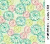 abstract seamless swirl summer... | Shutterstock .eps vector #108034505