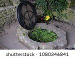 chalice well  red spring ... | Shutterstock . vector #1080346841