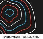 abstract vector background.... | Shutterstock .eps vector #1080375287