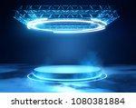 a futuristic technology blank... | Shutterstock . vector #1080381884