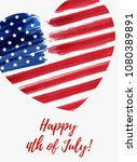 usa independence day background.... | Shutterstock .eps vector #1080389891