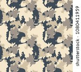urban camouflage of various... | Shutterstock .eps vector #1080411959
