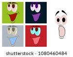 assembly of flat icons on theme ... | Shutterstock .eps vector #1080460484