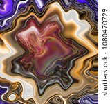 abstract nacre texture. marbled ...   Shutterstock . vector #1080470729