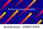 colofur geometric dynamic... | Shutterstock .eps vector #1080473405
