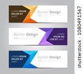 vector abstract design banner... | Shutterstock .eps vector #1080491567