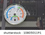 measure humidity and... | Shutterstock . vector #1080501191