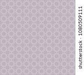 islamic monochrome purple... | Shutterstock .eps vector #1080509111