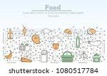food advertising illustration....