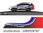 suv car graphics for vinyl wrap.... | Shutterstock .eps vector #1080528767