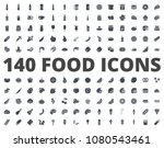 food silhouette icon pack... | Shutterstock . vector #1080543461