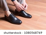 man shoes  classic man shoes at ... | Shutterstock . vector #1080568769