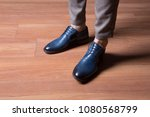man shoes  classic man shoes at ... | Shutterstock . vector #1080568799