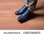 man shoes  classic man shoes at ... | Shutterstock . vector #1080568805