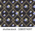 vector geometric seamless l... | Shutterstock .eps vector #1080574397