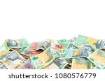 group of colorful australian...   Shutterstock . vector #1080576779
