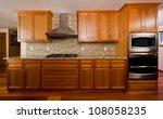 kitchen interior. | Shutterstock . vector #108058235