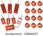 vector illustration of sale... | Shutterstock .eps vector #10806037