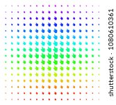 pointer finger icon spectrum... | Shutterstock .eps vector #1080610361