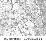 abstract geographical map.... | Shutterstock . vector #1080613811