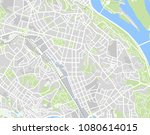 abstract geographical map kiev  ... | Shutterstock . vector #1080614015