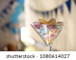 delicious sweet different cakes | Shutterstock . vector #1080614027