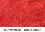 red soft synthetic plush fleece ... | Shutterstock . vector #1080648584