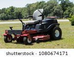 Small photo of zero turn lawnmower in my yard