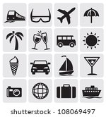 tourism set icons | Shutterstock .eps vector #108069497